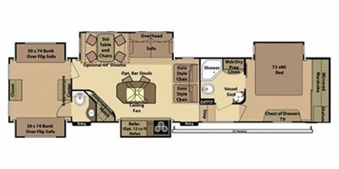 Open range bunkhouse 11