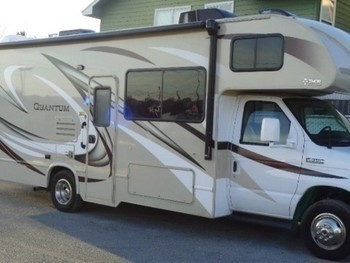 Sm thor quantum 26ft motorhome with slide closed ext