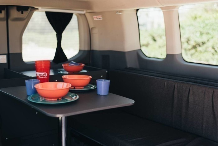 Escape-campervans-big-sur-model-interior-fitout-table