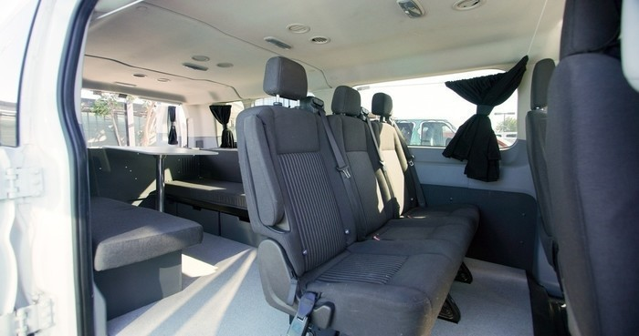 Escape-campervans-big-sur-model-interior-fitout-table-seats