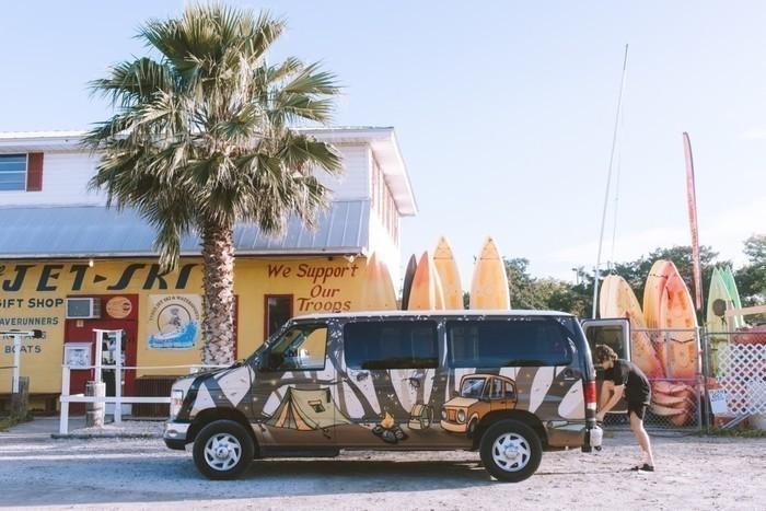 Tybee-island-campervan