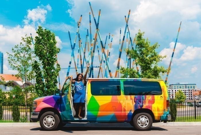 Escape-campervan-painting-woman-traveler