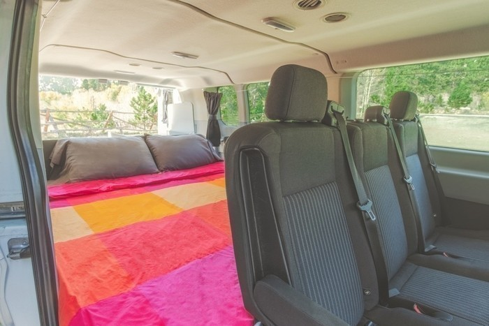 Escape-campervans-big-sur-model-fitout-bed