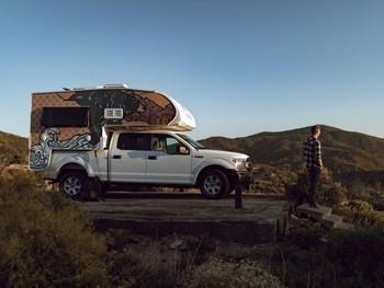 Sm escape campervans indie camper truck exterior 7