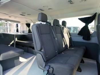 Sm escape campervans big sur model interior fitout table seats