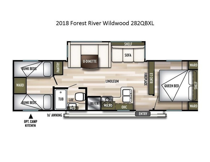 2018 forest river wildwood 282qbxl layout