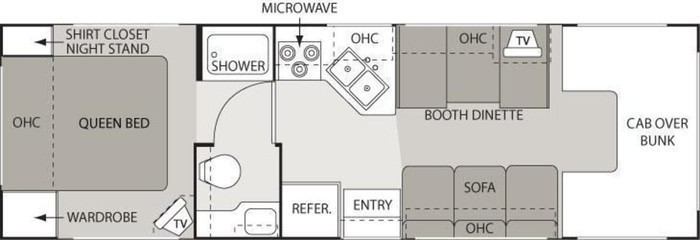 2007 chateau sport 28a floorplan
