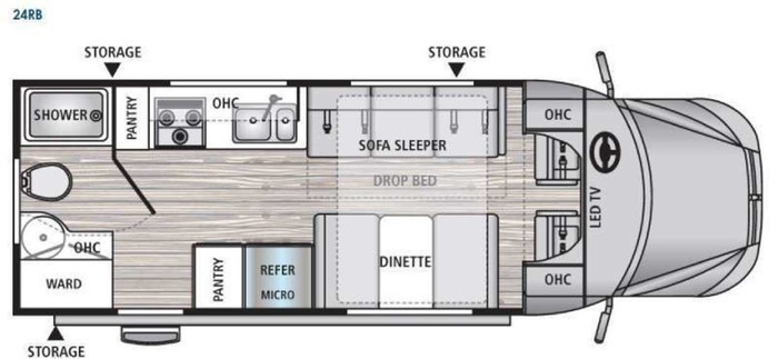 Dyanamax floor plan