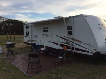 Sm travel trailer