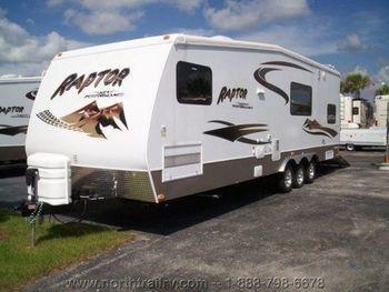 2007 Keystone Rv Raptor 3018TT - Toy Hauler RV on RVnGO.com