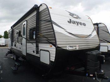 "2018 Jayco Jayflight ""Overbey"" 36' - Travel Trailer RV on RVnGO.com"