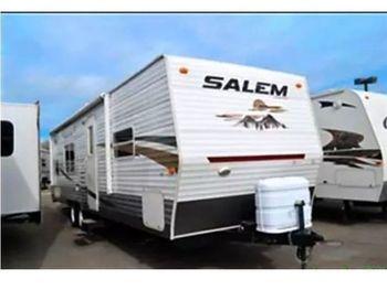 2010 Forest River Salem Ice 32' - Travel Trailer RV on RVnGO.com