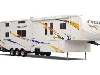 "2008 Heartland Cyclone ""Martin"" 40' - Fifth Wheel RV on RVnGO.com"