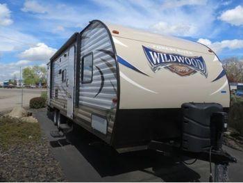 2017 Forest River Wildwood X-Lite 263BHXL - Travel Trailer RV on RVnGO.com