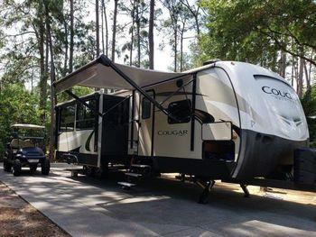 2020 Keystone Cougar 34TSB Bunkhouse - Travel Trailer RV on RVnGO.com
