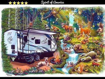 2019 Coachmen Spirit Of America 1943RB - Travel Trailer RV on RVnGO.com