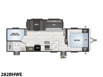 2021 Keystone Springdale 282BHWE - Travel Trailer RV on RVnGO.com